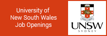 University of New South Wales Job Openings